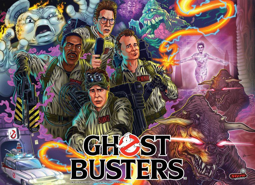 Ghostbusters_SternPinball
